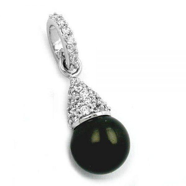Pendentif perle et argent 925 Krossin bijoux en argent 93169xx