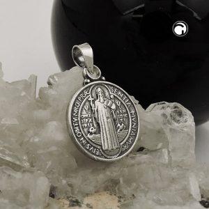 Pendentif religion medius oxyde argent 925 Krossin bijoux en argent 93747x