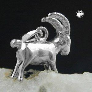 Pendentif signe du zodiaque capricorne argent 925 Krossin bijoux en argent 93141x