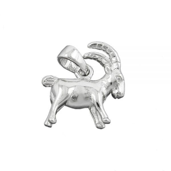 Pendentif signe du zodiaque capricorne argent 925 Krossin bijoux en argent 93141xx