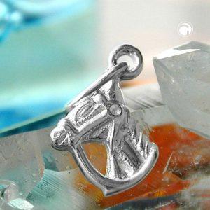 Pendentif tete de cheval en argent 925 Krossin bijoux en argent 92108x