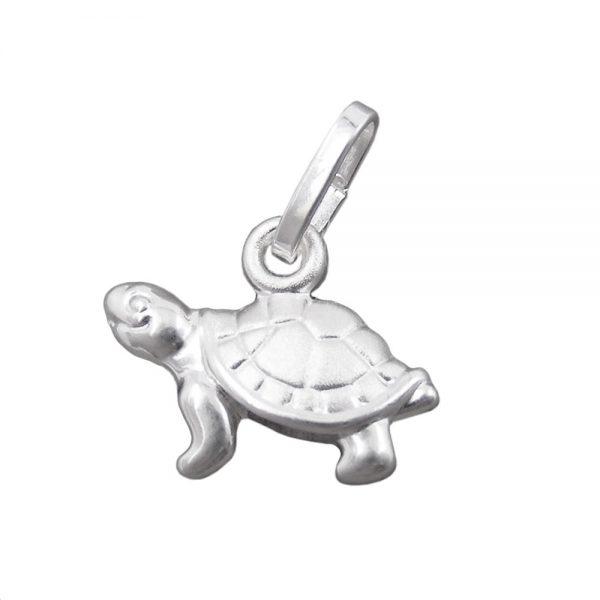 Pendentif tortue 11mm argent 925 Krossin bijoux en argent 92706xx
