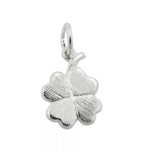 Pendentif trefle a quatre feuilles argent 925 Krossin bijoux en argent 93583xx