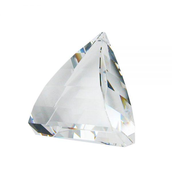 Pendentif triangle cristal clair 70263xx