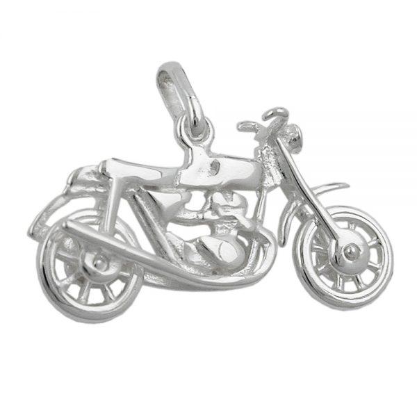 Pendentif vieille moto argent 925 Krossin bijoux en argent 92362xx