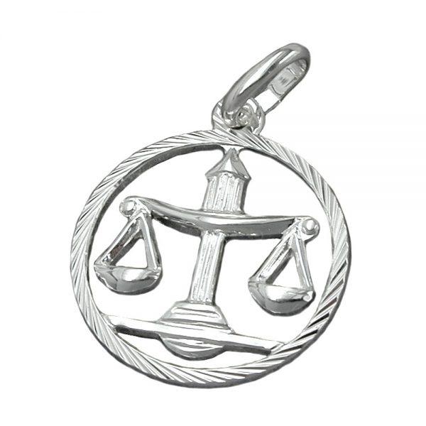 Pendentif zodiaque Balance argent 925 Krossin bijoux en argent 91010xx