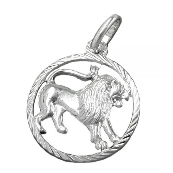 Pendentif zodiaque lion argent 925 Krossin bijoux en argent 91008xx