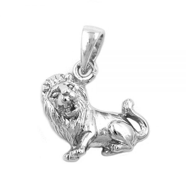 Pendentif zodiaque lion argent 925 Krossin bijoux en argent 93148xx