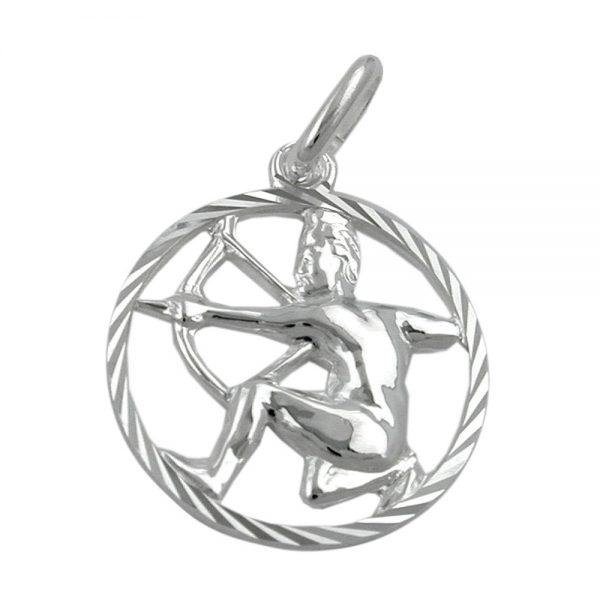 Pendentif zodiaque sagittaire argent 925 Krossin bijoux en argent 91012xx
