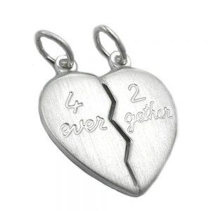 Pendentifs amitie 4ever 2gether 925 Krossin bijoux en argent 91625xx