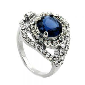 Pierres bleues en verre transparent 01204 56xx
