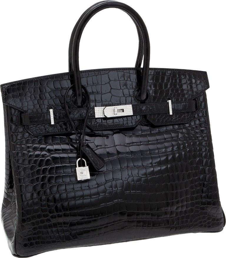 Sac Birkin en crocodile mat Hermès - Top 10 des sacs les plus chers du monde - Krossin