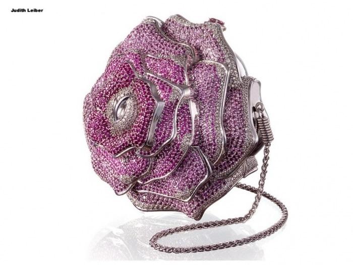 Sac Leiber Precious Rose - Top 10 des sacs les plus chers du monde - Krossin