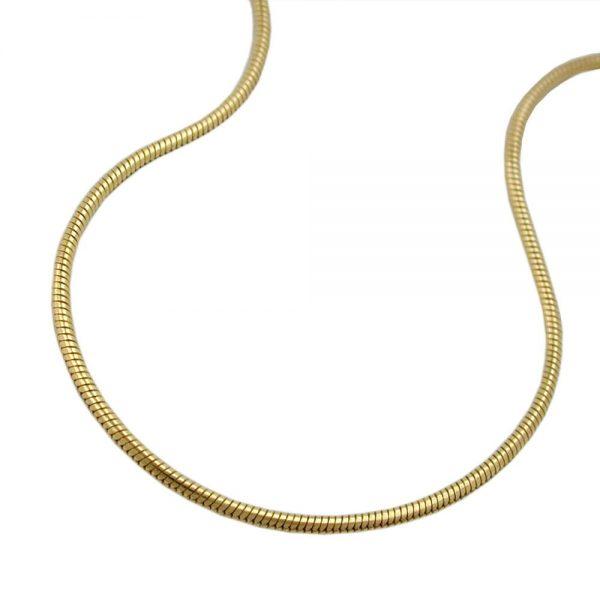 Serpent chaine ronde 1mm 9k or 519003 45xx