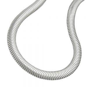 Serpent plat chaine argent 925 Krossin bijoux en argent 50cm 120020 50xx
