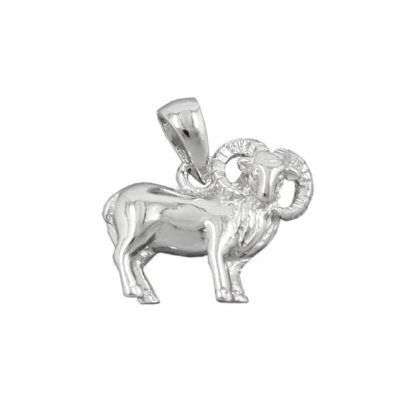 Signe du zodiaque pendentif belier argent 925 Krossin bijoux en argent 93144xx