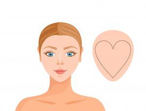 Visage coeur Krossin Bijouterie Choisir ces boucles d'oreilles pour un visage en forme de coeur