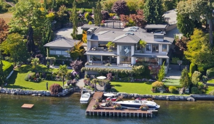 Bill Gates top 10 des maisons de stars les plus chers Krossin bijouterie