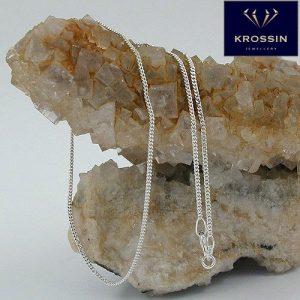 Mince chaîne argent pendentif argent Krossin bijoux en argent 36cm 101351 36xx