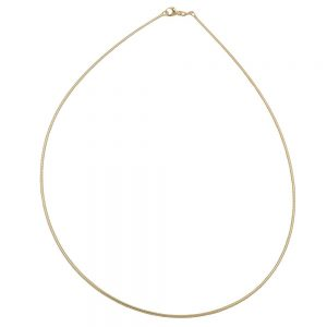 Chaine ronde 45cm en or 9 carats 538000 42xx