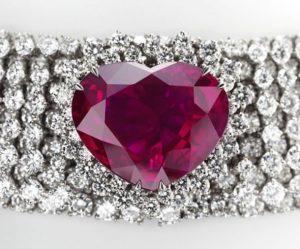 coeur du royaume rubis rouge krossin bijouterie