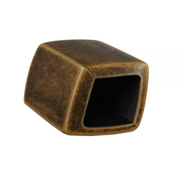 echarpe perle inclinee aspect laiton antique 04256xx