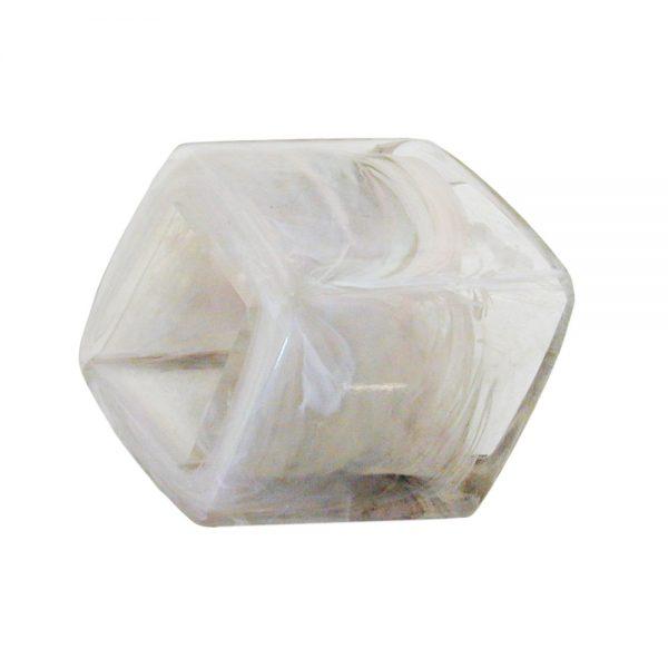 echarpe perle inclinee cristal gris 00991xx