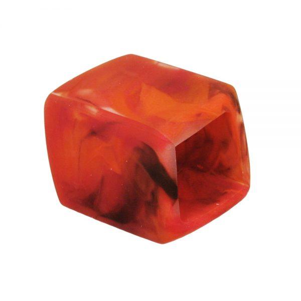 echarpe perle inclinee rouge marbre 04253xx