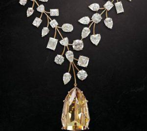L'incomparable diamant jaune bijoux les plus chers krossin