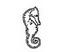 Poinçons 24 carats Hippocampe Krossin bijoux en or