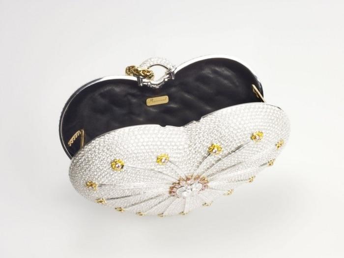 porte-monnaie diamant 1001 nuits du Mouawad - Top 10 des sacs les plus chers du monde - Krossin